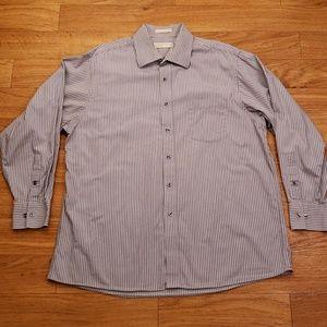 Michael Kor Men's XL Button Front  Shirt